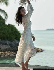 Melissa Cream dress